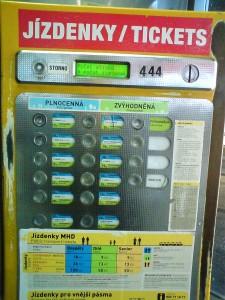 jizdenky / tickets / билеты