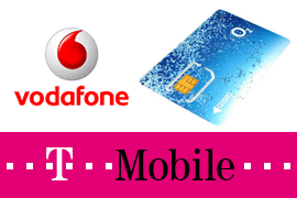 Vodafone, O2, T-Mobile in Prague