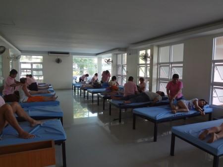 Тайский массаж слепых в Паттайе