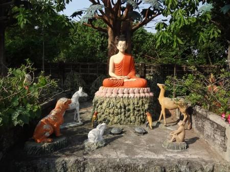 Будда с животными
