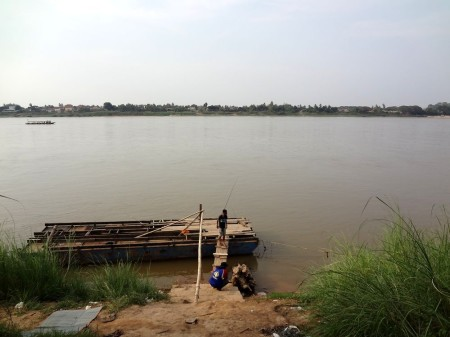 Рыбаки на Меконге