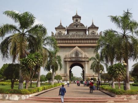 Триумфальная арка Patuxay