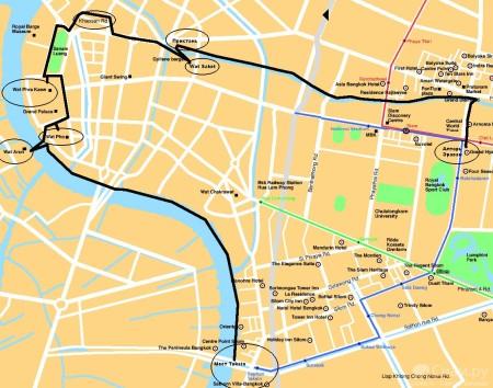 План экскурсии по Бангкоку